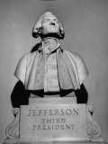Bust of Thomas Jefferson in Rotunda of Virginia State Capitol