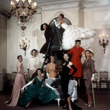 Models Wearing Latest Dress Designs from Christian Dior