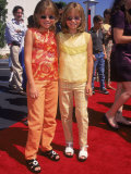 "Twin Actresses Mary Kate and Ashley Olsen at the Film Premiere of ""Honey I Shrunk the Kids"""
