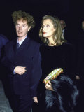 Model Lauren Hutton with Her Boyfriend  Producer Malcolm Mclaren