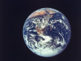 Earth from Aboard Apollo 17 Spacecraft