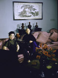 Portrait of General and Madame Chiang Kai-Shek at Home