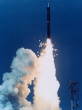 Test Launch of Midgetman Small Icbm Non-Operational System