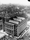 An Aerial View Showing the Exterior of the Cooper Union School