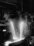 Pouring of Molten Steel