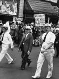 Wpa Workers Marching in the Labor Day Parade