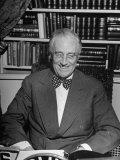 President Franklin D Roosevelt Speaking on Pre-Invasion Fireside Chat Radio Program