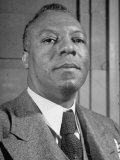Portrait of A Philip Randolph  the Head of Brotherhood of Sleeping Car Porters
