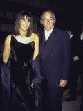 Married Fashion Designers Donna Karan and Stephan Weiss at Cfda Awards