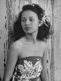 Portrait of Young Hawaiian Woman