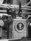 President Dwight D Eisenhower Campaigning for Richard M Nixon
