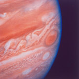 Jupiter&#39;s Great Red Spot During Late Jovian Afternoon  Photographed by Voyager 2 Spacecraft