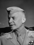 General Dwight D Eisenhower at West Point