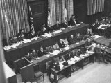 Opening Day of the Nuremberg Trials