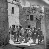 Uniformed Men of the Arab Legion Who are Fighting Jews for Control of Jerusalem