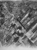 Aerial View of the Bomb-Damaged Krupp Works after an Allied Air Attack on This Devastated City