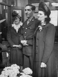 Corporal Israel H Sloan Wedding Bride Estelle Levy in Civil Ceremony at Marriage License Bureau