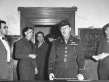 Col Burton Andrus Announcing Suicide of Hermann Goering During Trial of German War Criminals