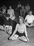 Women Meditating During their Exercises