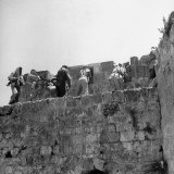 Major John Bagot Glubb's Arab Legionnaires Fight from Walls of Jerusalem  in War with Israel