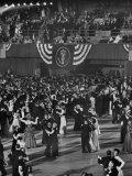 Huge Numbers of People Dancing on the Ballroom Floor During Harry S Truman's Inaugural Ball