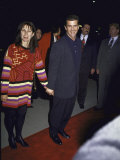 Actor Mel Gibson and Wife Robyn