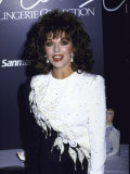 Actress Joan Collins Promoting Her Lingerie Collection