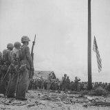Flag Raising on Guam