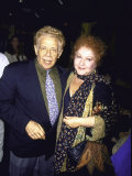 Actors Jerry Stiller and Estelle Harris