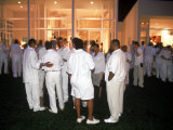 "Annual White Party at Home of Rap Artist Sean ""Puffy"" Combs"