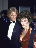 Peter Holm and Girlfriend  Actress Joan Collins