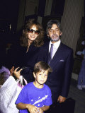 Actress Jaclyn Smith  Husband Tony Richmond and their Son Gaston