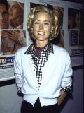 "Actress Tea Leoni at Film Premiere of Her ""Flirting with Disaster"""