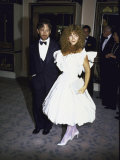 Director Producer Steven Spielberg and Wife  Actress Amy Irving