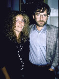 Actress Amy Irving and Husband  Director Producer Steven Spielberg