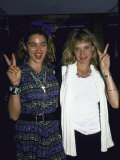 Singer Madonna and Actress Rosanna Arquette