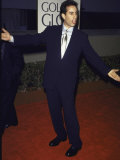 Comedian Jerry Seinfeld at Golden Globe Awards