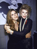 Comedienne Joan Rivers and Daughter Melissa