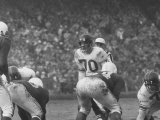 Ny Giants Player Sam Huff During Game Against the Cardinals