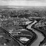 Ariel View of Melbourne and the Yarra River
