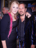 Country Singer Trisha Yearwood and Husband Robert Reynolds at Launch Party for Vh1's Hard Rock Live