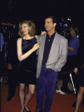 Actors Rene Russo and Mel Gibson at Film Premiere of their &quot;Lethal Weapon 3&quot;