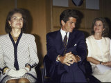 Jacqueline Kennedy Onassis and Her Children John F Kennedy Jr and Caroline Kennedy Schlossberg