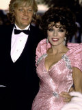 Peter Holm and Wife  Actress Joan Collins