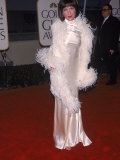 Actress Lara Flynn Boyle at Golden Globe Awards
