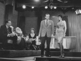 Jack Paar with Guests on His TV Show