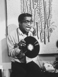 "Actor Sammy Davis Jr on TV Show ""The Big Party"""