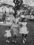 Queen Sirikit with Her Daughters
