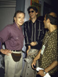 TV Personality Dick Cavett and Comedian Actor Richard Belzer