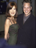 Actress Tori Spelling and Her Brother  Actor Randy Spelling